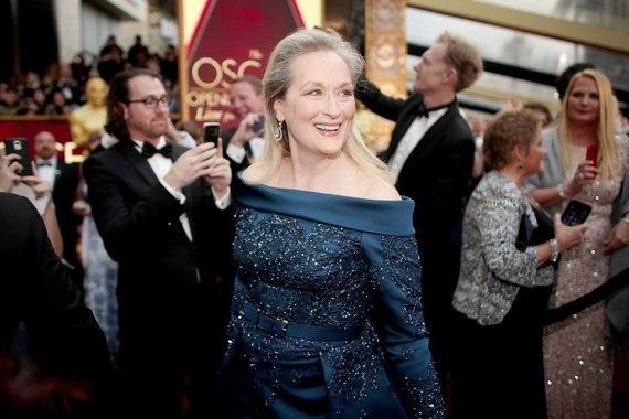 Оскар-2017: самая скандальная персона Мерил Стрип на красной дорожке