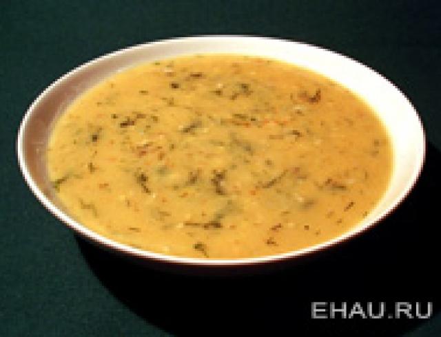 Гороховый суп с цыпленком