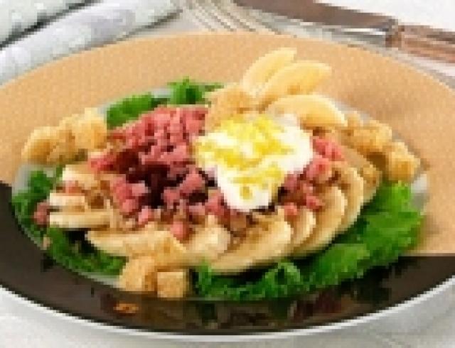 Салат из бананов (Уганда)