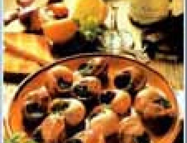 Улитки в чесночном соусе - блюдо испанской кухни