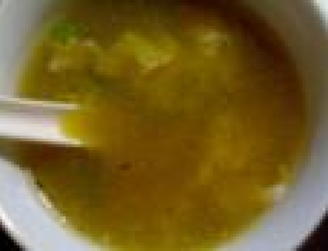 Суп сладкий с яичными хлопьями (Испанская кухня)