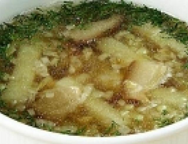 Суп из пельменей по-американски
