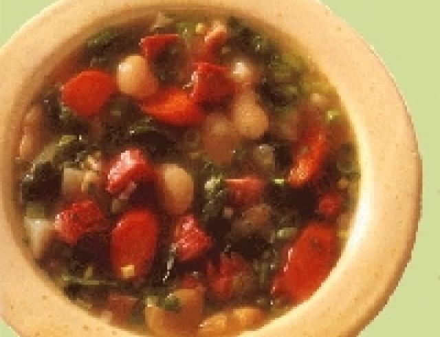 Суп из свежей фасоли