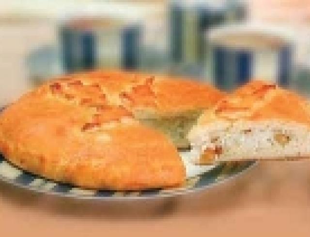 Губадия с мясом по-татарски
