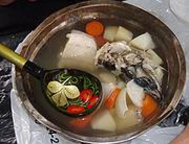 Венгерский рыбный суп