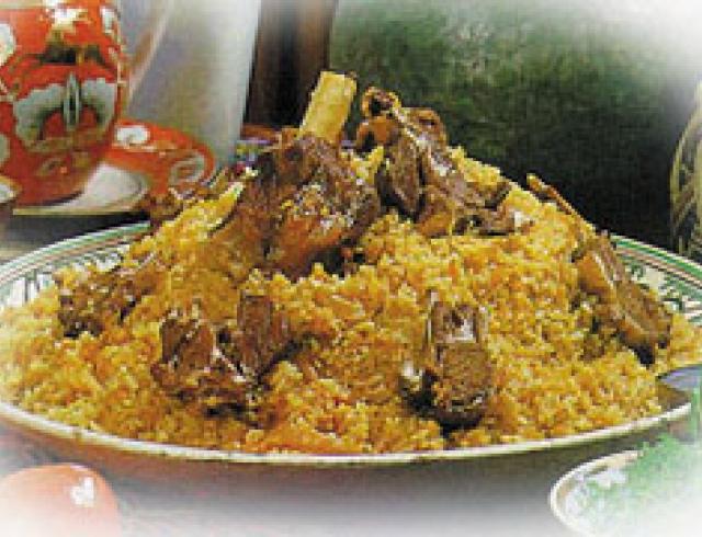 Сабза-каурма  (блюдо азербаджанской кухни)