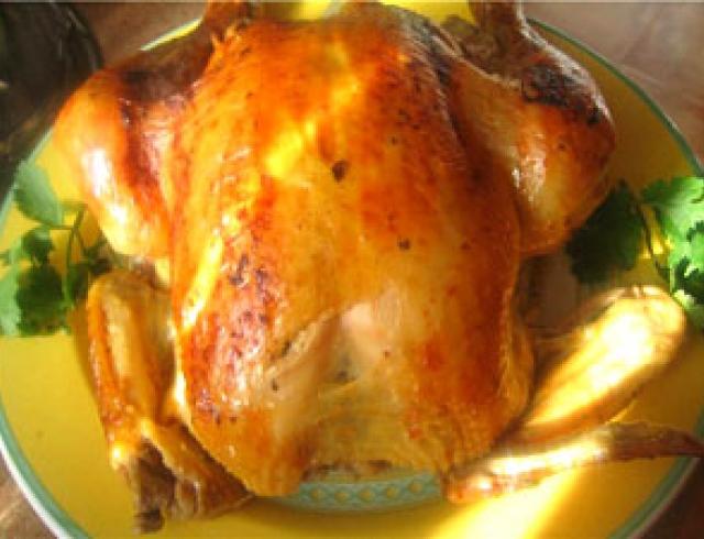 Курица с тархуном по-грузински