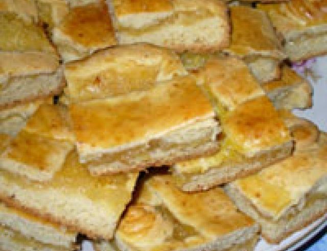 Лимонный торт по-американски