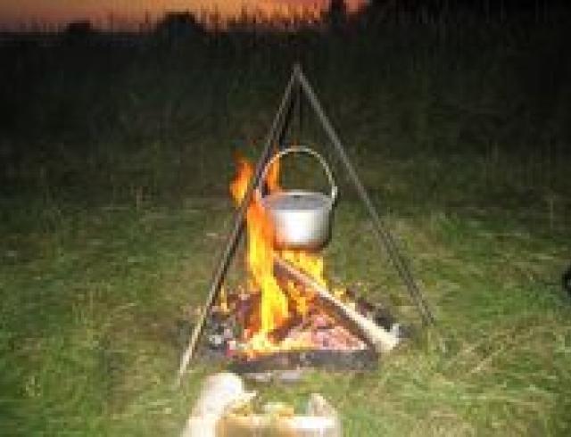 Лесная каша (блюдо пикника)