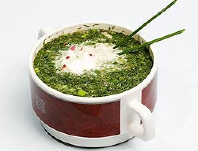 Окрошка ашхабадская (Туркменская кухня)