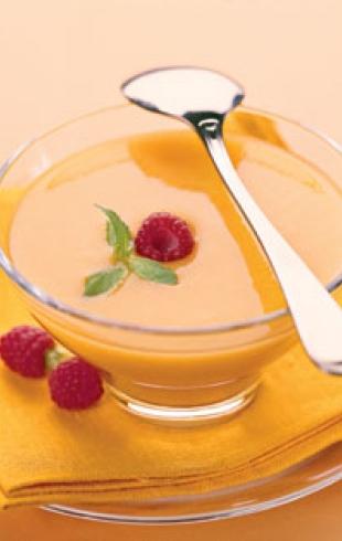 Абрикосовый десерт Белоснежка