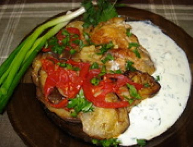 Борани из цыплят со стручковой фасолью (блюдо армянской кухни)