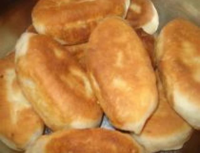 Шилекли (пирожки, жареные во фритюре по-туркменски)