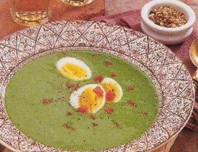 Суп из шпината (Блюдо болгарской кухни)
