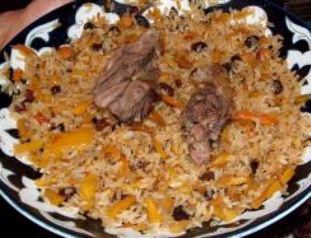 Балыг-плов (блюдо азербаджанской кухни)