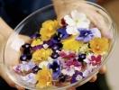 Кулинария и цветы: украшение стола, торты в виде цветов, пирожные