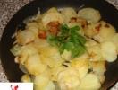 Готовим в пост. Жареная картошка с луком