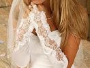 Модные свадебные перчатки-2011