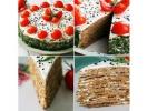 Праздничный печеночный торт