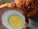 Сытная закуска «Яйца в мясном фарше»