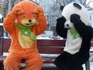 Мороженое на дом: привезут белка, панда и пилот