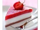 Йогуртово-клубничный торт