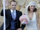 Лучший футболист Евро-2012 Андрес Иньеста женился