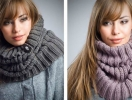 Мастер-класс: как носить шарф-хомут. Видео