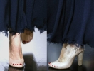 Туфли с педикюром от Celine