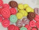 Печенье-пуговки: украшение сладкого стола