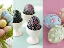 Как красиво красить яйца на Пасху: лучшие идеи