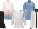 Модные блузы и рубашки осени 2013