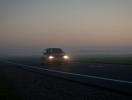 Особенности езды за рулем в туман