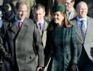 Члены королевской семьи во главе с Елизаветой II вместе встретили Рождество