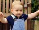 Обнародован официальный портрет принца Джорджа