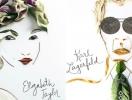 Созданы портреты знаменитостей из цветов и драгоценностей