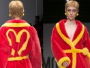 Пальто-халат Moschino