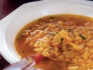 Рецепт постного блюда «Тыквенный суп с чечевицей». ФОТО