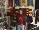 Юрист из Мехико собрал самую большую коллекцию сувениров Гарри Поттера