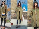 Кто красивей носит пальто цвета хаки: Кристен Риттер VS Пак Сора