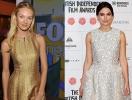 У кого блестящее платье лучше: Кира Найтли vs Кэндис Свейнпол