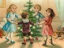 Как оригинально поздравить с Новым годом: открытки в стиле ретро
