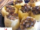 Готовим в пост. Печеный картофель, фаршированный грибами