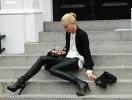 Как носить кожаные брюки и не выглядеть брутально