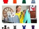 Как одеться на 8 марта: 10 платьев всех цветов радуги