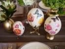 Пасха: как сделать пасхальные яйца элементом декора