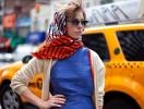 Пасха: как завязать шарф/платок на голову
