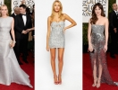 Тренд вечерней моды – серебряное платье: как одеться на выпускной 2015