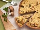 Все буде смачно 25.10.2015: бисквитный пирог с лисичками и сыром