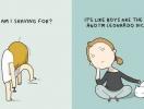 Одиночество с юмором: комиксы, в которых узнает себя каждая одинокая девушка